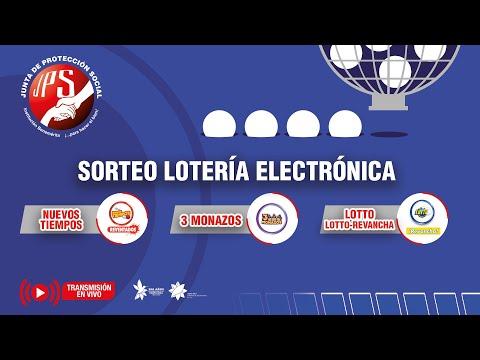 Sorteo Lot Elec Nuevos Tiempos Rev 18834, 3Monazos 1260, Lotto y Lotto Revancha 2169  22-09-2021 JPS
