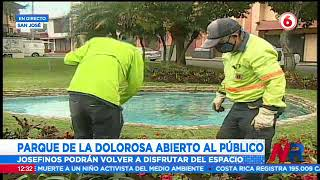 Parque La Dolorosa abre al público este miércoles