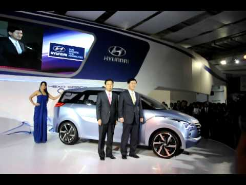 Hyundai Hexa Space concept uncovered