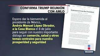 Trump reacciona a la visita del presidente a EU | Noticias con Ciro Gómez Leyva