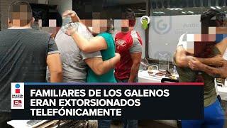 Rescatan a 14 enfermeros  secuestrados en hoteles de Tacubaya