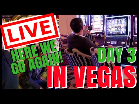 """connectYoutube - 🔴 LIVE """"Here we go Again!"""" VEGAS CASINO ✦ Playing Slot Machines ✦ with Brian Christopher"""