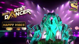 Tiger के इस Sensual Performance ने किया Terrance को Impress | India's Best Dancer | Happy Vibes - SETINDIA
