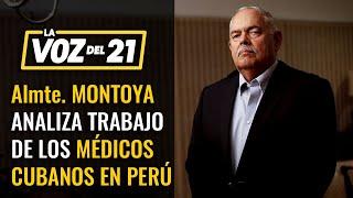 """Almte. Jorge Montoya: """"Hay que protegernos de agentes antidemocracia"""""""