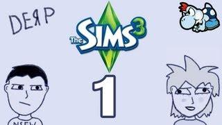 Бредовые Будни в The Sims 3 #1 - Кровать с Текстурками! :3