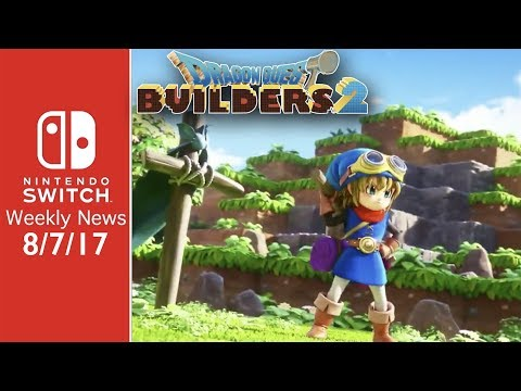 Dragon Quest Builders 2 Coming to Switch!, Mayo Wins Splatfest, and MORE! - SWN 8/7/17