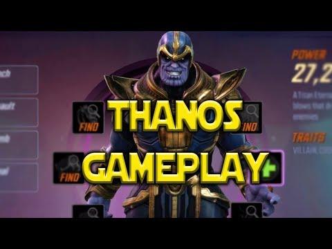 How To Unlock Thanos New Raid Gameplay | Marvel Strike Force
