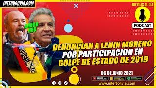 ???? Gobierno de LENIN MORENO APOYÓ el Golpe de JEANINE ÁÑEZ dando gases y balines para reprimir ????