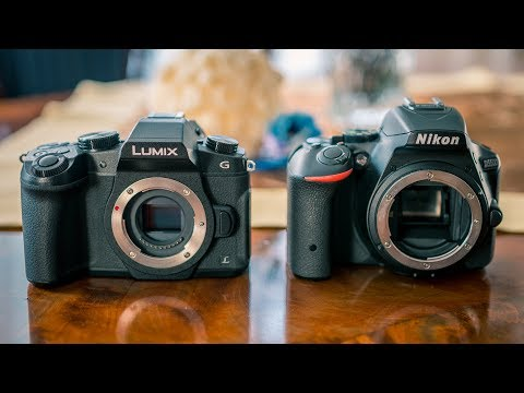 DSLR vs Mirrorless - What to buy in 2018?