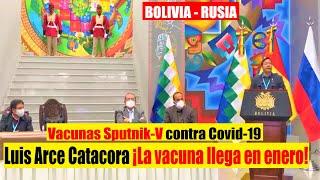????Bolivia | Gobierno suscribe contrato con Rusia para suministro de vacunas Sputnik-V contra Covid-19