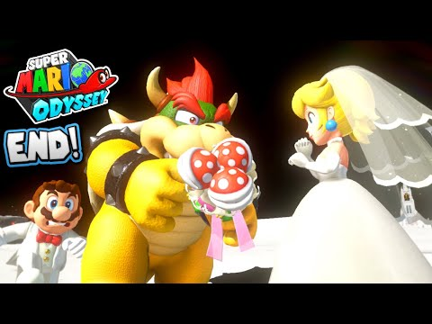 SUPER MARIO ODYSSEY *END* - Will they get MARRIED!?