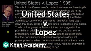 Unites States v  Lopez