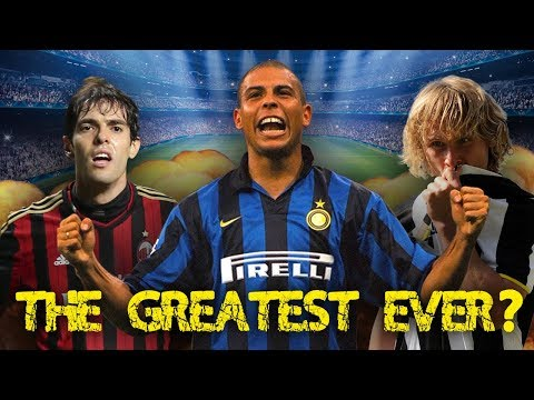 The GREATEST Serie A Player Of All Time Is…?!   StatWars