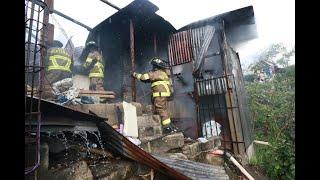 Familias necesitan ayuda tras perderlo todo en incendio de tres viviendas en la zona 7