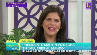 El presidente Vizcacha en Mujeres al mando (16-09-2020)