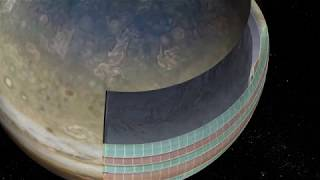NASA's Juno Spacecraft Reveals the Depth of Jupiter's Colored Bands