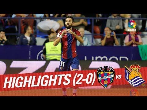 Resumen de Levante UD vs Real Sociedad (3-0)
