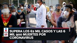 México bate un nuevo récord al registrar 2 mil 960 casos de Covid-19 en un día