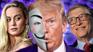¿ANONYMOUS NOS ENGAÑO: Trump cae, Bill Gates se aprovecha y cancelan a Brie Larson...