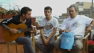 'Stay Homas', de tocar en la terraza a grabar con Sony