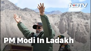 PM Modi Addresses Soldiers In Ladakh | NDTV 24x7 LIVE TV - NDTV