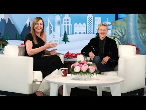 Allison Janney on Working with an Unusual Co-Star