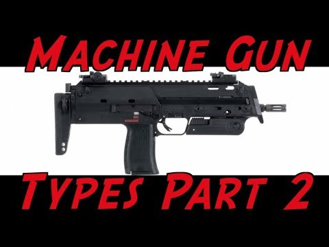 connectYoutube - Machine Gun Terminology Part 2: SMG, PDW, & Machine Pistol