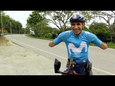 La revancha de 'Mochoman': de víctima de las FARC a ciclista paralímpico