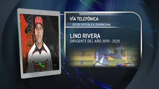 Lino Rivera listo para la Serie del Caribe