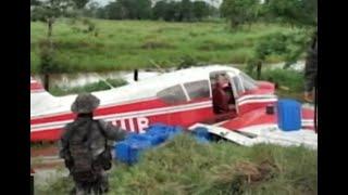 Localizan avioneta accidentada en Izabal