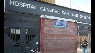 Atención de pacientes Covid-19 en Hospital San Juan de Dios