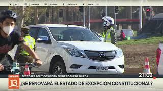 Región Metropolitana en fase 1: Fiestas callejeras y tránsito caótico previo a la cuarentena