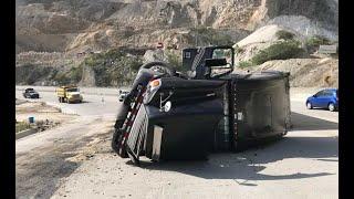 Escalofriantes cifras de accidentes del transporte pesado