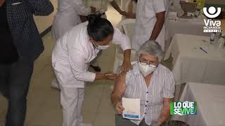 Estelí: aplican segunda dosis de vacuna contra la Covid-19