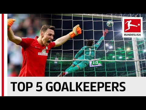 Pavlenka, Fährmann & Co. – The Best Goalkeepers of the Season