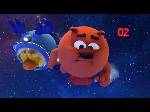 Кадр из мультфильма «Пин-код. Прыжок в будущее. Десять секунд»