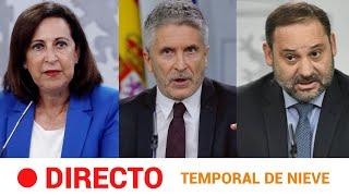 EN DIRECTO ???? Rueda de prensa del GOBIERNO sobre el TEMPORAL de FRÍO | RTVE Noticias
