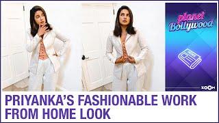 Priyanka Chopra's FASHIONABLE dress up for work from home amid lockdown - ZOOMDEKHO