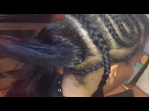 Easy Braid Pattern For A Vixen Sew-In - TomClip