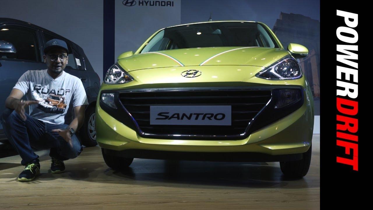 Hyundai Santro: Legend reborn at Rs. 3.8 lakh : PowerDrift