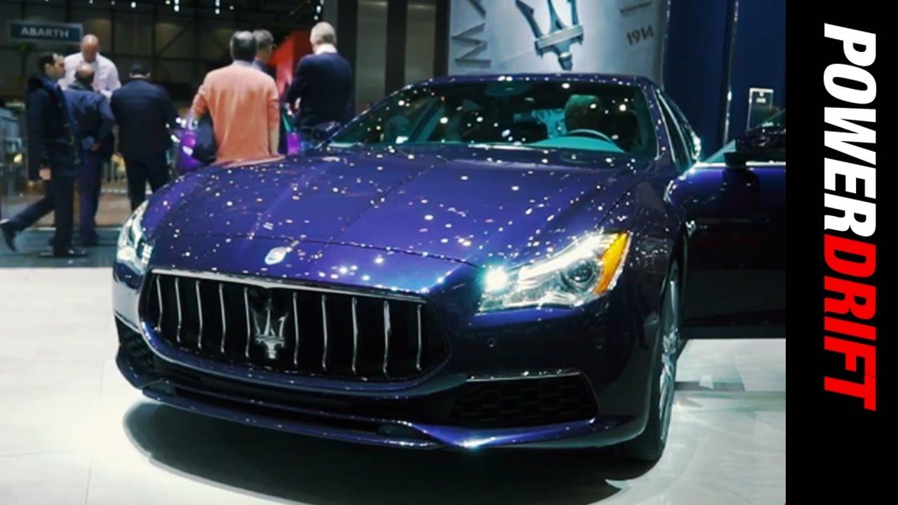 Maserati at Geneva Motor Show : PowerDrift