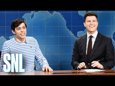 connectYoutube - Weekend Update: Pete Davidson on Kevin Love - SNL