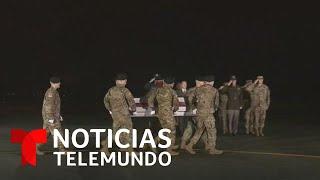 Llega a Estados Unidos el cuerpo del soldado latino asesinado en Afganistán   Noticias Telemundo