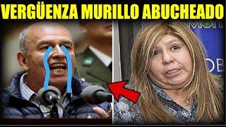 Abuchean a Arturo Murillo ministro de Añez