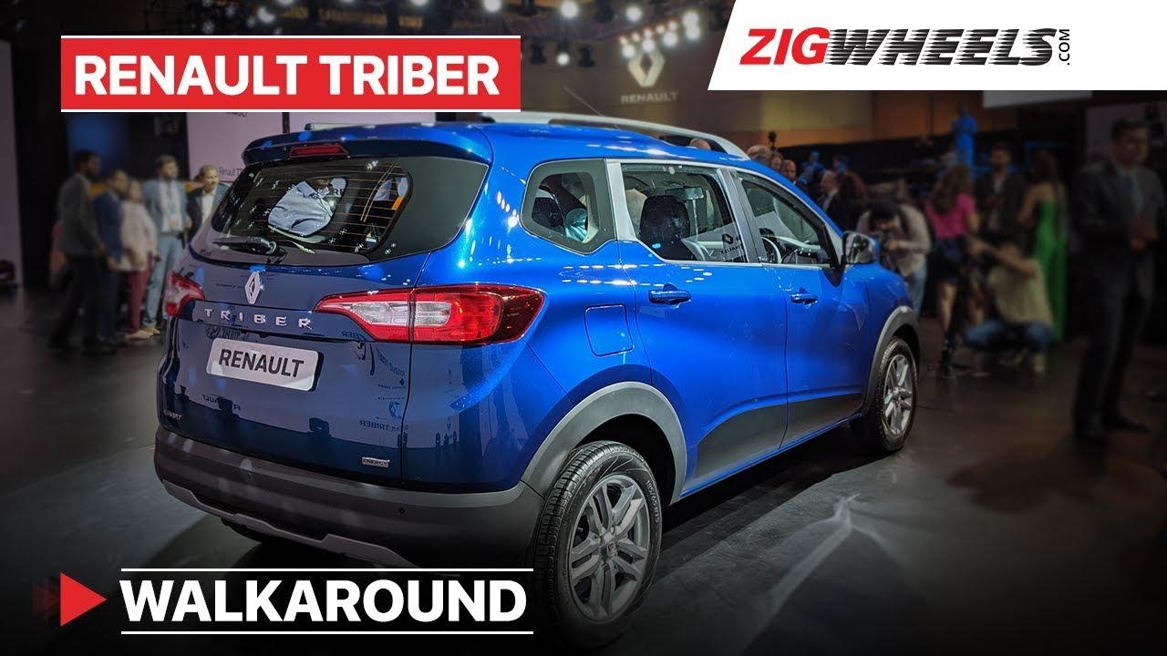 Renault Triber India Walkaround | Interior, Features, Prices, Specs & More! | ZigWheels.com