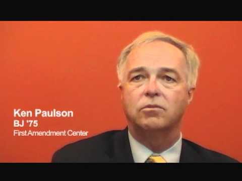 Ken Paulson, BJ '75: Developing a Critical Journalism Skill