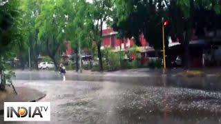 Rain lashes Chandigarh, brings much needed respite from heat - INDIATV