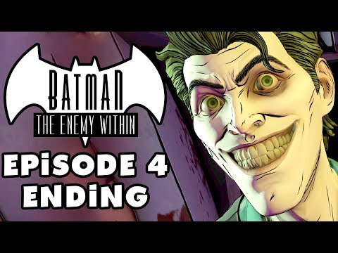 connectYoutube - JOKER? - Batman: The Enemy Within - Episode 4: What Ails You - Gameplay Part 2 (Telltale)