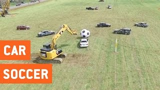 Real Life Rocket League | Car Soccer Game
