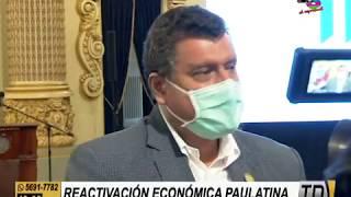 Ejecutivo se refiere a la reactivación económica paulatina